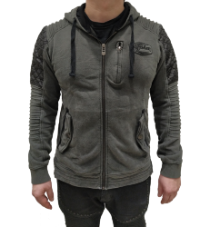 Толстовка муж. Affliction SANCTION ZIP HOOD
