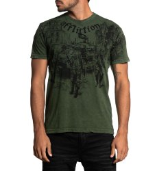 Футболка муж. Affliction GHOST ARMY S/S TEE