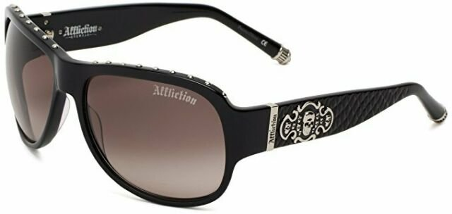 Очки Affliction RAVEN BLACK/SILVER