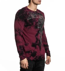 Пуловер муж. Affliction BRIXTON TRIBE L/S THERMAL