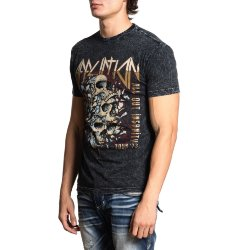Футболка муж. Affliction INSANITY TOUR S/S TEE