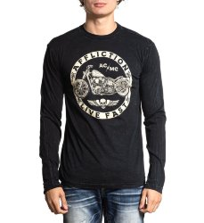 Лонгслив муж. Affliction KICKSTAND L/S CREW
