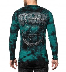 Пуловер муж. Affliction LAST STAND TOUR L/S REV.THERML