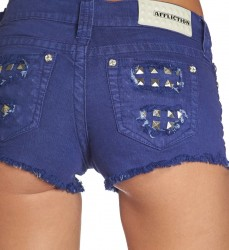 Шорты жен. Affliction VIKKI IRIS ROYAL BLUSH SHORT