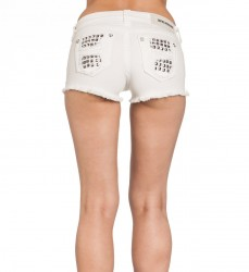 Шорты жен. Affliction VIKKI IRIS WHITE SHORT