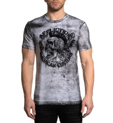 Футболка муж. Affliction AC NATIVE PETROL S/S TEE