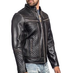 Куртка муж. Affliction LEMMY LEATHER JACKET
